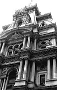 Philadelphia City Hall Framed Prints - Philadelphia City Hall   Framed Print by Vickie G Buccini