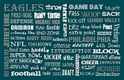Philadelphia Eagles Posters - Philadelphia Eagles Poster by Jaime Friedman