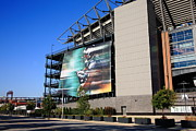 Citizens Bank Park Prints Framed Prints - Philadelphia Eagles - Lincoln Financial Field Framed Print by Frank Romeo