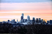 Philadelphia From Belmont Plateau Print by Bill Cannon