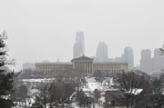 Art Museum Prints - Philadelphia from Lemon Hill Print by Bill Cannon