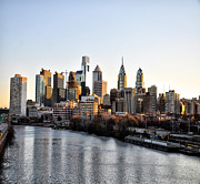 Philadelphia In The Morning Light Print by Bill Cannon