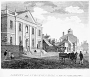 Philadelphia Scene Art - Philadelphia: Library, 1799 by Granger