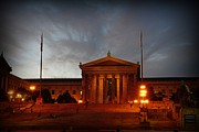 Franklin Metal Prints - Philadelphia Museum of Art Metal Print by Paul Ward