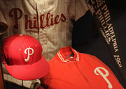 Phillies. Philadelphia Photo Posters - Philadelphia Phillies Poster by David Rucker