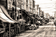 Italian Market Metal Prints - Philadelphias Italian Market Metal Print by Bill Cannon