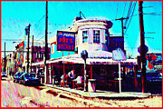 South Philly Prints - Philadelphias Pats Steaks Print by Bill Cannon