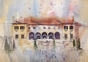 Gilcrease Framed Prints - Philbrook Museum Tulsa Framed Print by Micheal Jones