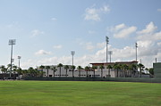 Phillies Brighthouse Stadium Clearwater Florida Print by Bill Cannon