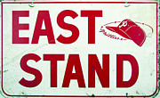Phillies Art - Phillies East Stand Sign - Connie Mack Stadium by Bill Cannon