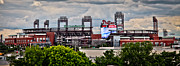 Phillies Stadium Print by Stacey Granger