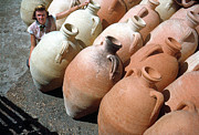 Water Jug Originals - Phillipeville Amphorae by Jan Faul