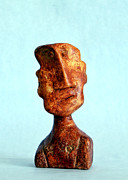 Featured Sculpture Originals - Philosophers No. 1  by Mark M  Mellon