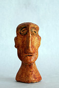 Primitive Sculptures - Philosophers No. 2 by Mark M  Mellon