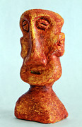 Featured Sculpture Originals - Philosophers No. 3 by Mark M  Mellon
