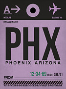 Phoenix Airport Poster 1 Print by Irina  March