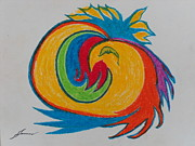 New Mind Pastels - Phoenix by James Welch