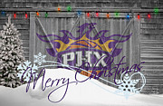 Dunk Metal Prints - Phoenix Suns Metal Print by Joe Hamilton