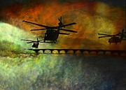 Army Air Service Paintings - Phone Case - Into the Fire by Jill Jacobs