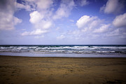 Featured Art - Photo of Beach and Pacific Ocean by Paul Velgos