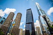 Architecture Metal Prints - Photo of Chicago Skyscrapers Metal Print by Paul Velgos