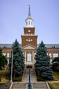 University Of Cincinnati Prints - Photo of McMicken Hall at University of Cincinnati Print by Paul Velgos