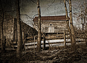 Maggie Vlazny Prints - Photograph Country Barn Print by Maggie Vlazny
