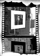 Woody Allen Prints - Photographic Artwork of Woody Allen in a Window Display Print by Randall Nyhof