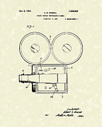 Gift Drawings Framed Prints - Photographic Camera 1929 Patent Art Framed Print by Prior Art Design