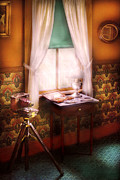 Curtains Photo Framed Prints - Photography - Creative Pursuits Framed Print by Mike Savad