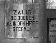 Hans Engbers - Phrase On Tombstone