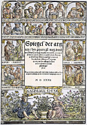 Spiegel Framed Prints - Physicians, 1532 Framed Print by Granger
