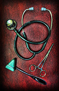 Nurses Prints - Physicians Tools  Print by Lee Dos Santos