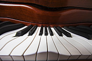 Color Bending Prints - Piano Dreams Print by Garry Gay