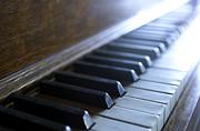Piano Keys Print by Jon Neidert