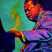 Jazz Painting Originals - Piano Player by Derrick Higgins