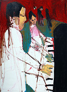 Piano Players Print by Anon Artist