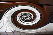 Surrealistic Acrylic Prints - Piano Swirl Acrylic Print by Garry Gay