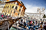 Francesco Zappala Metal Prints - Piazza di Spagna Metal Print by Francesco Zappala