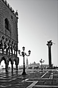 Sunrise Prints - Piazza San Marco Print by Marion Galt