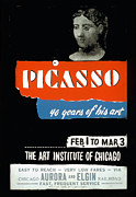 Chicago Digital Art Metal Prints - Picasso 40 years of his art  Metal Print by Unknown
