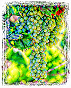 Nudes Digital Art Prints - Pick And Bottle II Print by Ken Evans