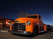 Chevrolet Pickup Truck Posters - Pickin Up Dusk Poster by Paul Swanson