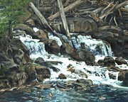 Lori Brackett - Picnic at the Falls