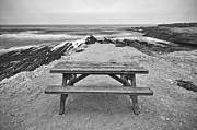 Jamie Pham - Picnic - lone table overlooking the ocean in Montana de Oro State Park in Caliornia