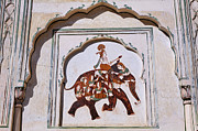 Jaipur Photos - Picture at the Monkey Temple at Jaipur in India by Robert Preston