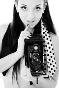 Brunette Prints - Picture Print by JT PhotoDesign