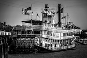 Mississippi River Posters - Picture of Natchez Steamboat in New Orleans Poster by Paul Velgos