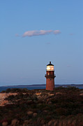 New England Acrylic Prints - Picturesque New England Lighthouse Photography of Gay Head Light by Juergen Roth