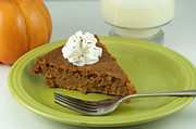 Baked Prints - Piece of Pumpkin Pie Print by Juli Scalzi